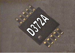 D372A Electroluminescent Lamp Driver IC